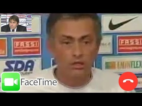 """A***hole!"" Jose Mourinho Argues With Antonio Conte On Facetime*"