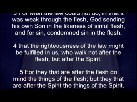 Faith Establishment Bible Readings, KJV Audio and Text, Epistle of Romans Complete