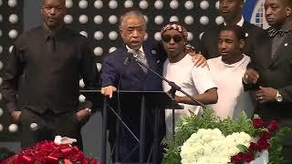 Al Sharpton speaks at Stephon Clark's funeral