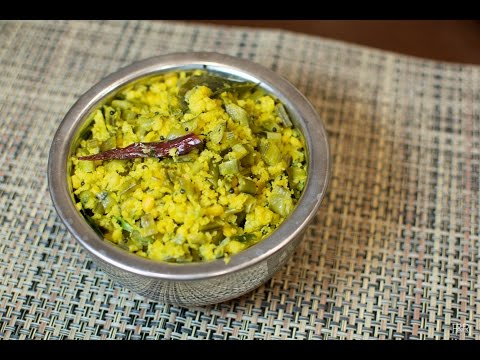 Matvadi Palya | Matodi Palya (Gorikai(cluster beans) and Chana dal)|matwadi Palya