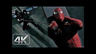 Spider-Man Vs Venom & Sandman | LATINO (4k-HD) | Spider-Man 3 (2007)