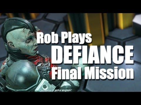 Defiance Gameplay - Final Mission / Nim FIght