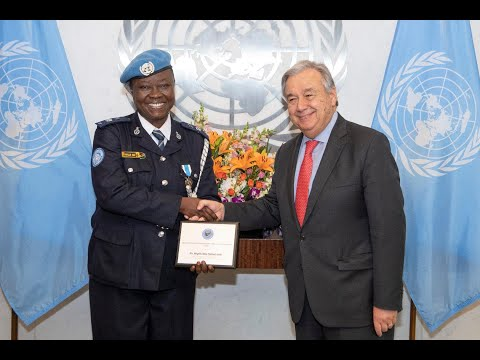 United Nations Police Woman of the Year - 2018