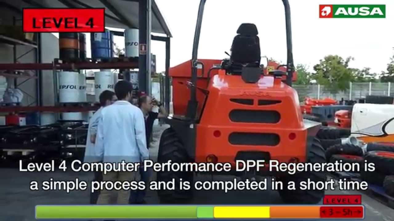 DPF's Regeneration Instructions