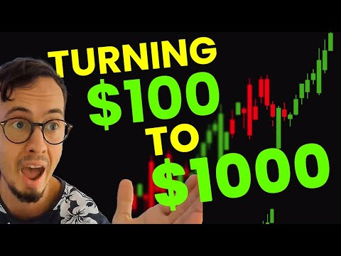How to Grow $100 to $1000 Trading Forex | Small Forex Account Challenge