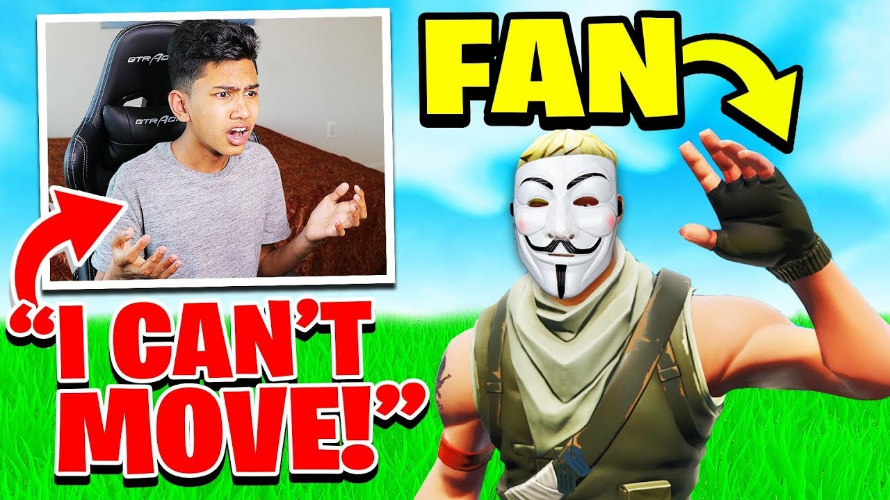 Weird Fan HACKED My Fortnite Game for No Reason...