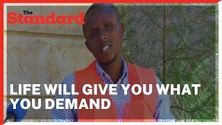 Life will give what you demand- Gicheru shares how he built smokeless energy-saving jiko\'s business