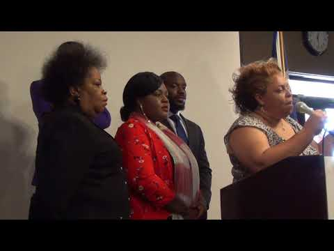 Caribbean Chamber of Commerce 1-15-2018 Press Conference. Houston, Tx. Part 2