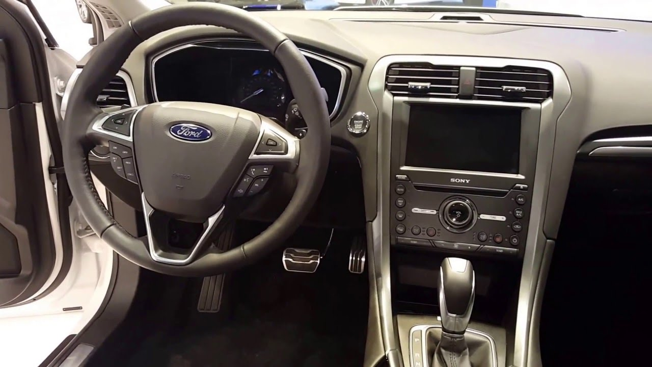 Ford Fusion Titanium Interior Photos Brokeasshome Com
