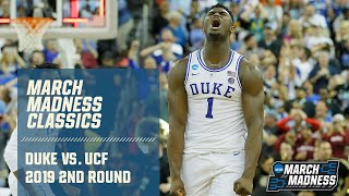 Duke v. UCF March Madness 2019 classic (FULL GAME)