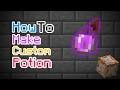 HOW TO MAKE CUSTOM POTION IN MCPE | Minecraft PE