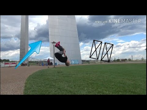 FLIPPING AT THE ST. LOUIS ARCH! *Omaha Vlog #1*