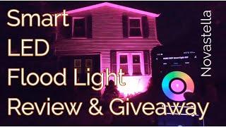Novestella Flood Light Review & Giveaway