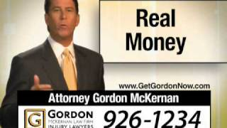 Car Wreck Auto Accident Baton Rouge Trial Lawyers - Gordon McKernan - Real Money 3