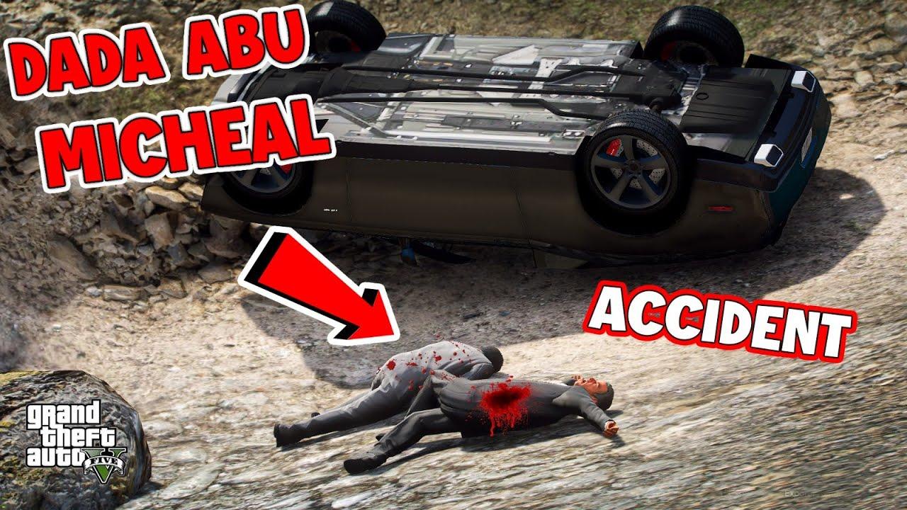 GTA 5 Pakistan | DADA ABU AND MICHEAL ACCIDENT | Urdu