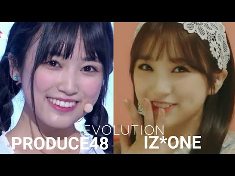 IZ*ONE Yabuki Nako Evolution (Produce48-IZ*ONE)