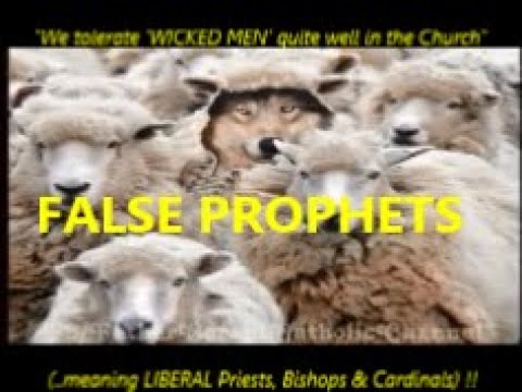 """""""We tolerate 'WICKED MEN' (LIBERAL Priests, Bishops & Cardinals) quite well inside the Church !!"""""""