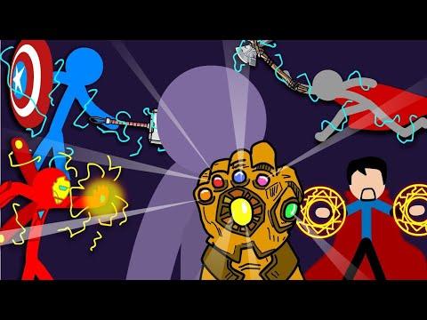 Avengers EndGame -Final Battle | Stick Fight
