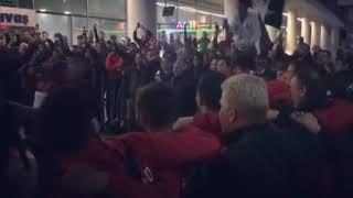 Video 156 | Adıyaman'ı yenerek 3.Lig'de Play-Off potasına giren Karşıyaka'nın sevinci😎