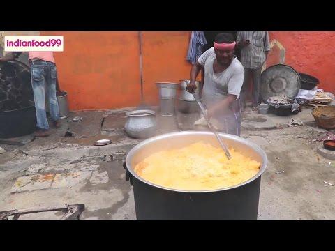 Muslim Chicken Dum Biryani Prepared for 300 people -  Indian Street Food