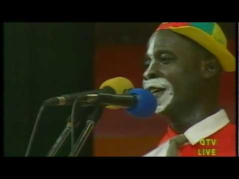 Ghana key soap concert party comedian cocoa tea