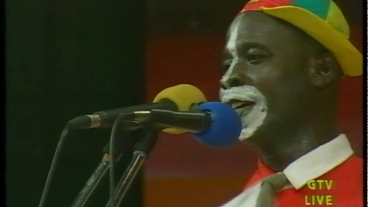 Ghana key soap concert party comedian cocoa tea - YouTube