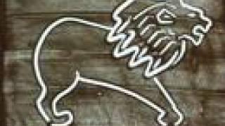 사자 별자리를 모래로 그리면?