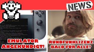 Switch Emulator angekündigt! Gronkh nun mit Rundfunk Lizenz, bald für alle? - NerdNews #220