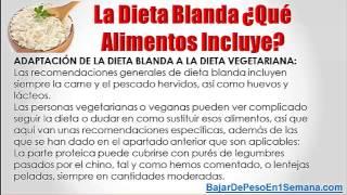Alimentos para dieta blanda viyoutube - Alimentos de una dieta blanda ...