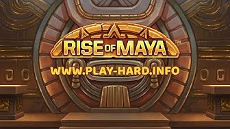 Rise of Maya by NetEnt & SUPER MEGA WIN