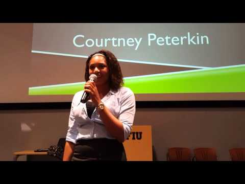Courtney Peterkin - Public Relations Officer