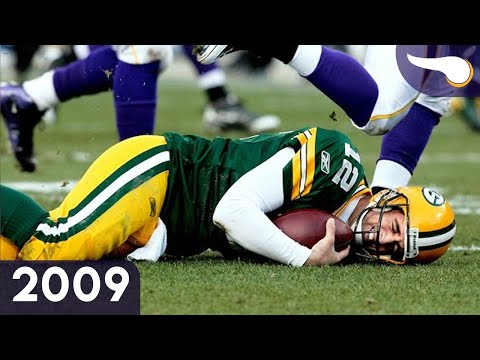 Favre Returns to Lambeau - Vikings vs. Packers (Week 8, 2009) Classic Highlights