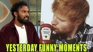 YESTERDAY - Funny Moments and Bloopers - Himesh Patel, Ed Sheeran, Kate McKinnon