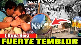 ➕ ULTIMA HORA HACE UNAS HORAS fuerte temblor desperto varia ciudadanos en Colombia - ALERTA NACIONAL