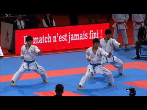 Team Kata EMPI by Japan National Team - 21st WKF World Karate Championships