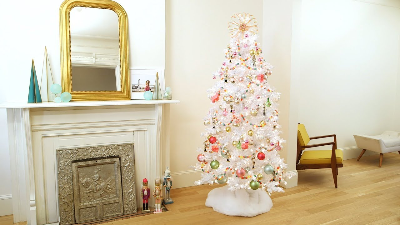 land of sweets candy themed christmas tree martha stewart - Candy Themed Christmas Decorations