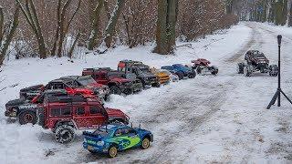 RC 4x4 Ice & Snow drift car. Traxxas Ultimate Desert,Sumit,trx-4.Sklep R/C Poznań Dąbrowskiego 54