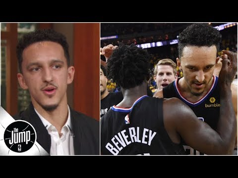 87d3a1c71fb0 Landry Shamet talks about Clippers  Game 2 comeback vs. Warriors ...
