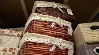 Корзинки, коробки, ящики в Леруа Мерлен. Обзор товара в магазине Леруа Мерлен .