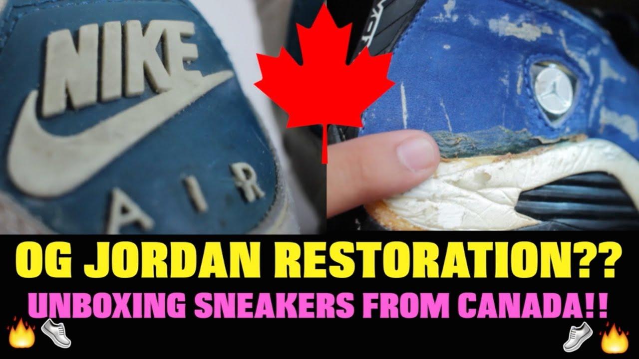 79470dfa66f THE OG JORDAN UNBOXING FROM CANADA!! - YouTube