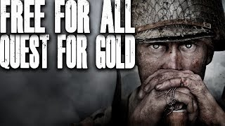 MP40 QUEST FOR GOLD (Call of Duty World War 2 - COD WW2)