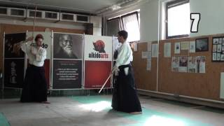 13 no jo awase jo- jo [TUTORIAL] Aikido advanced weapon technique: