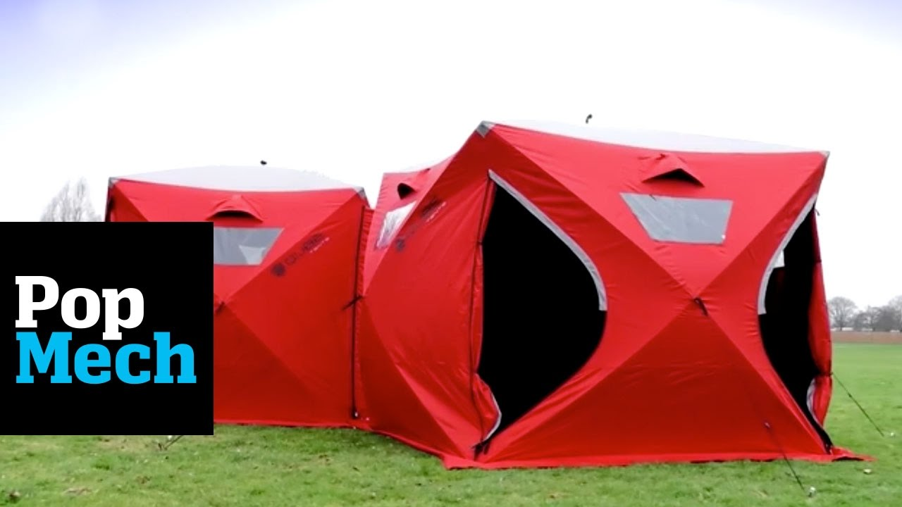These Connecting Tents Are New and Improved and We Need Them! | PopMech & These Connecting Tents Are New and Improved and We Need Them ...
