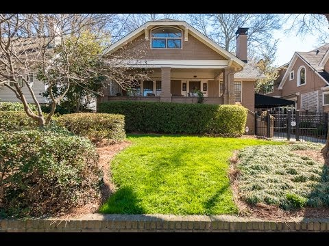Charming Intown Atlanta Craftsman Style Home 947 St