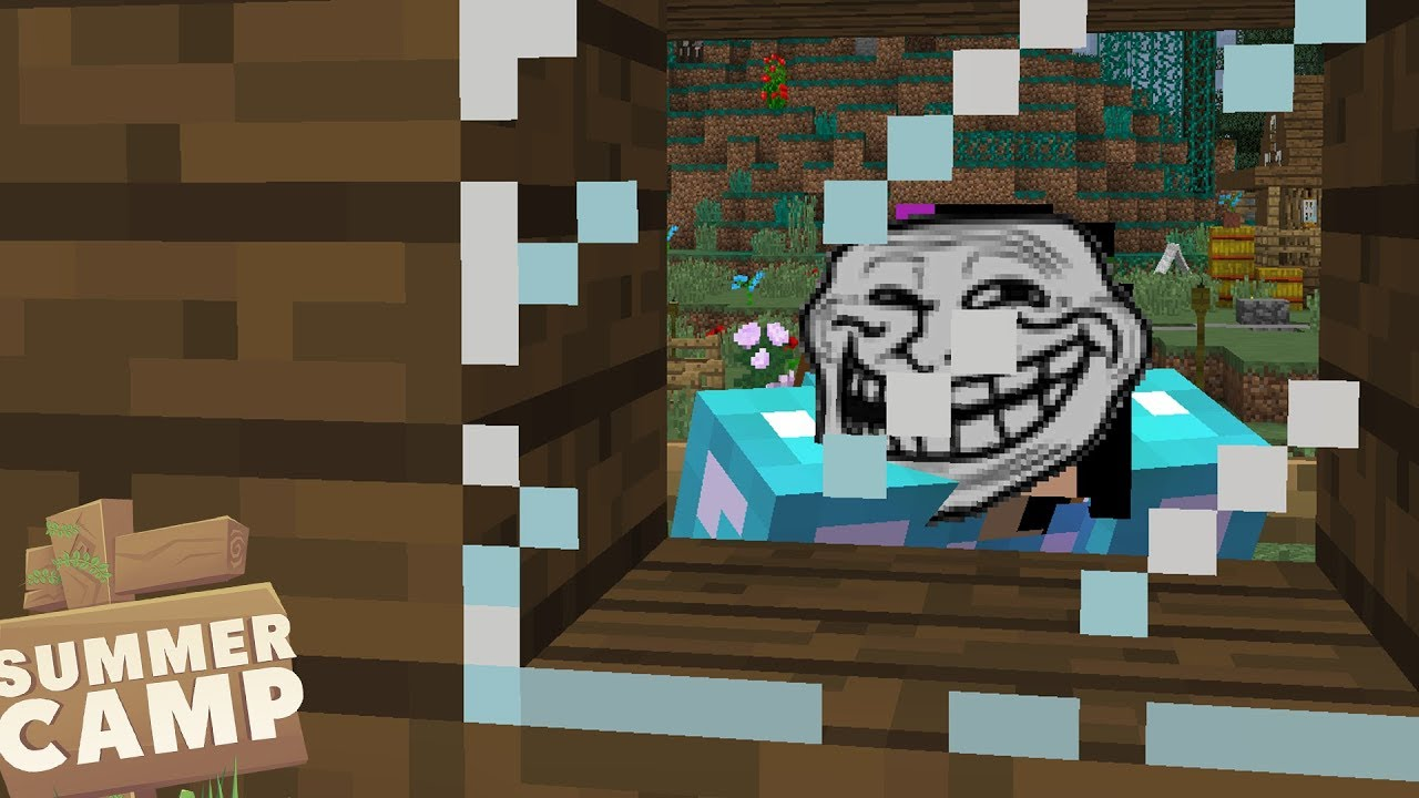 Download A TROLL IS OUTSIDE! - Minecraft Summer Camp (14)