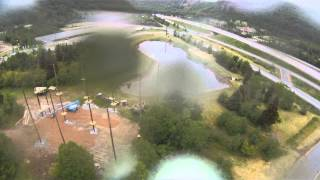Marble Mountain Steadybrook Humber River Aerial Footage - Sky Surfer FPV Plane