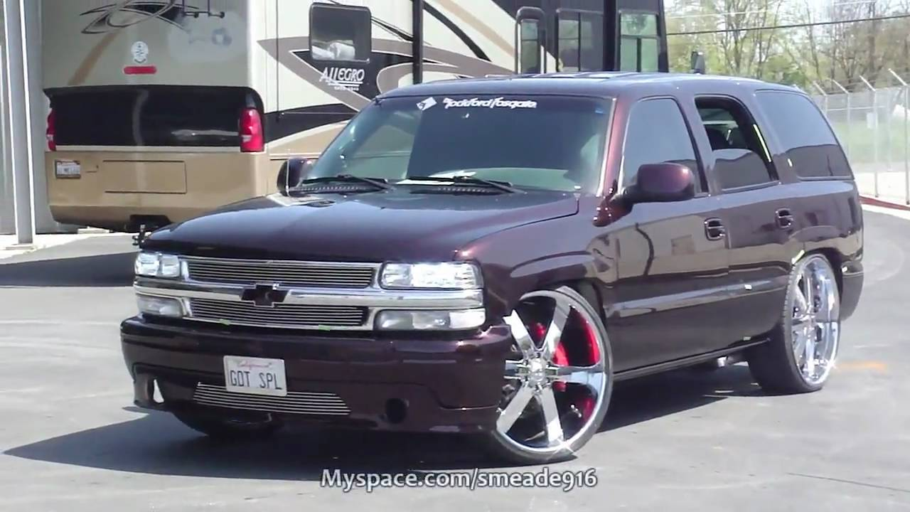 wicked dripping wet paint job 2001 chevy tahoe is done meadecherry by roy devore youtube [ 1280 x 720 Pixel ]