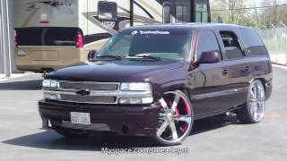 """WICKED DRIPPING WET PAINT JOB - 2001 Chevy Tahoe Is DONE! """"Meadecherry"""" By Roy Devore"""