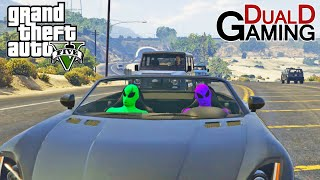 2 Aliens På Area 51 i GTA 5