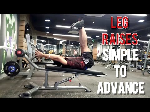 how-to-do-leg-raise-workout-simple-to-advance-during-your-back-pain!!-lower-abdominal-workout
